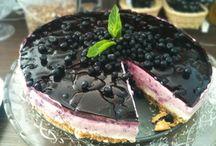 Nepečené torty a zákusky