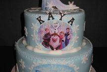Linneas Frozen Birthday Party