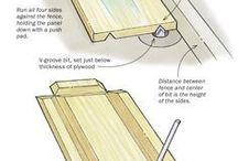Dřevo - návody a postupy
