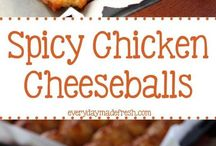 spicy chicken cheesbals