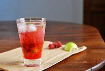 cocktails et autres boissons