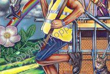 POPPY PALIN TAROT CARDS