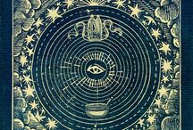 ARTE ENIGMÁTICO / Arte enigmático: antiguos grabados de astrología, ilustraciones medievales, litografías, arte rupestre, arte religioso, de toda clase, cristiano, pagano, ocultista.