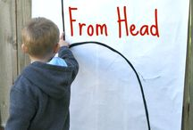 Motor Skills / Activities and ideas to work on Motor Skills - fine and gross. / by Rainy Day Mum