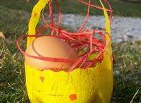 Pâques Creche