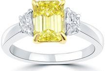 Three Stone Diamond Engagement Rings / by Liori Diamonds
