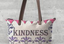 VIDA Statement Bag - Kay Duncan Yoga 001 Bag by VIDA