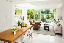 Contemporary interior design / Family home in Cambridge. PInterior design by AZ INTERIORS, Cambridge. Paintings by Alicja Zimnickas. Photography by Anthony Harrison