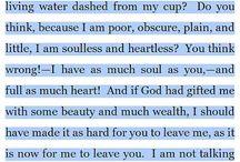 Words. Feelings.