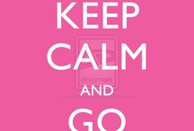 Keep calm and get keep calm's / Keep calm is back in and I really like the idea of them !