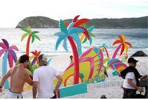 beach booth