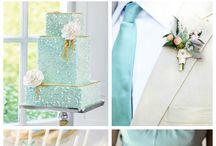Ślub i wesele w kolorach turkusu i akwamaryny / Ślub i wesele w kolorach turkusu i akwamaryny, motyw morski na weselu