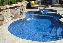 Pools / by Nancy Rufle - Oldfather