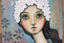 Fantastic folk art from other artists / Some of the best art from my favourite artists