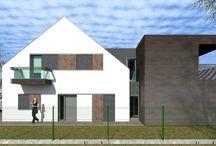 Balatonszárszó house expansion designed by 4D Architects