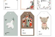 Natal etiquetas