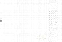 free music-themed cross-stitch patterns