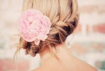 Bridal hair, headdress, veils
