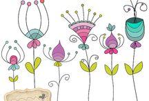 Doodles / Flores