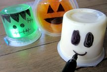 School Halloween snacks / by Stacia Moore-Carroll