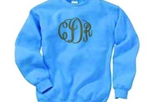 throw a monogram on it