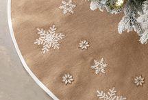 Karácsonyfa alátét