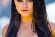 Mila Kunis / Not sure what is about her but I know I like it! Cutie!