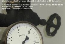 Horario de verano / Udako ordutegia / Summer timetable