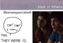 Percy Jackson and The Olympians/The Heroes Of Olympus