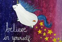 Paint Nite Paintings - Whimsical / Check out our most magical, fun, and silly paintings that you can paint in an area near you.