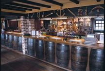 The Bar and Lounge / Rustic Countryside Pub at The Ferry House Inn on the Isle of Sheppey