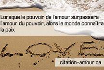 Citation d'Amour