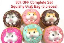 SQUISHIES RAIN / Upto 30 percent off.. !! This Season grab the squishies ....gift your loved ones