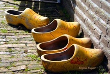 Shoes ~ For A Dutch Girl / Wooden Shoes from my Dutch heritage. / by Patty Dahl