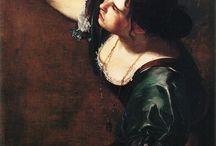 Artemisia Gentileschi / Artemisia Lomi Gentileschi (Roma, 8 luglio 1593 – Napoli, 1653)  pittrice italiana di scuola caravaggesca.