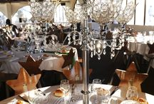 Centrepieces / We stock a large range of centrepieces available for DIY hire (Melbourne only). From simple cylinder glass vases to extravagant crystal candle holders...