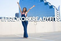 Firework Ready Fits / Looks perfect for the summer! Cookout season is here!