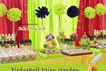Tinkerbell Fairy Party / Tinkerbell fairy garden themed birthday party