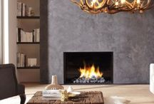 DRU Gas Fires / Designed to warm the very heart of your home, a DRU Fire brings you the promise of cosy comfort throughout those long winter nights; even if you don't have a chimney!
