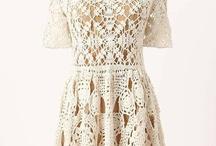 háčk.šaty,sukne