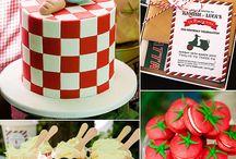 HA 1st birthday party ideas