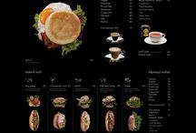 hanging board menu
