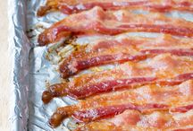 Bacon add a little sizzle to your life / Wake up and smell the bacon!