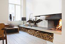Eastern Wall fireplace