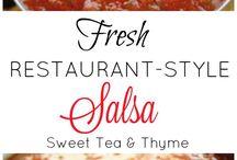 Salsa and dips
