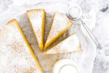 Single layer cakes & tarts