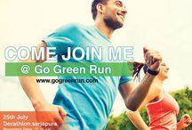 Go Green Run 2015 / With every registration, One tree shall be planted. RUN FOR A GREENER BENGALURU - 25th July, 2015, Decathlon Sarjapur, 6.15 AM.  Register: http://bit.ly/1HZSEW7 #Bengaluru #GoGreenRun