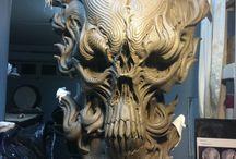 Mask, Skull