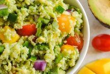 Healthy veggie dinner