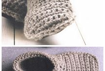 Slipper crochet